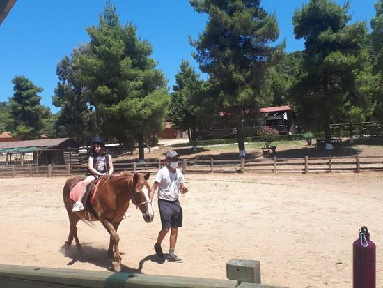 Ατομικά μαθήματα ιππασίας