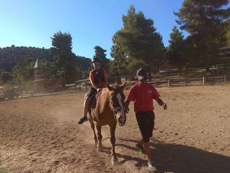 μάθημα ιππασίας