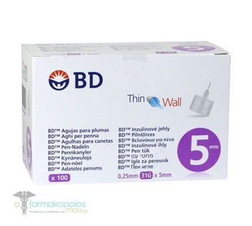 ΒΕΛΟΝΕΣ-BD microfine 5mm