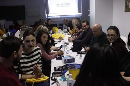 πρακτική εκπαίδευση ομάδας Θεσσαλονίκης