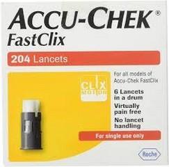 ΣΚΑΡΦΙΣΤΗΡΕΣ- Accu-chek fastclix lancets