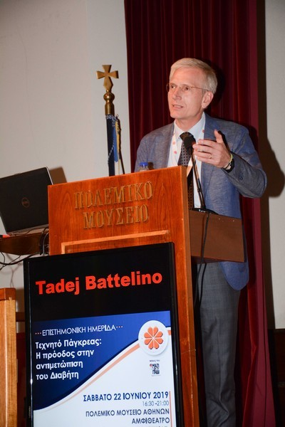 •Tadej Battelino: Καθηγητής Παιδιατρικής, Ιατρική Σχολή του Πανεπιστημίου της Ljubljana, Σλοβενία