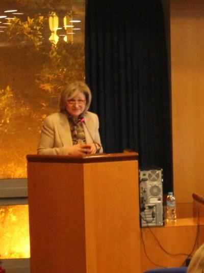κ.Μάτζιου Βσιλική-καθηγήτρια Νοσηλευτικής ΕΚΠΑ