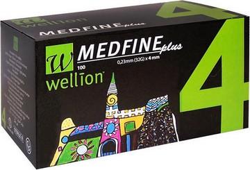ΒΕΛΟΝΕΣ- Wellion Medfine plus 4mm